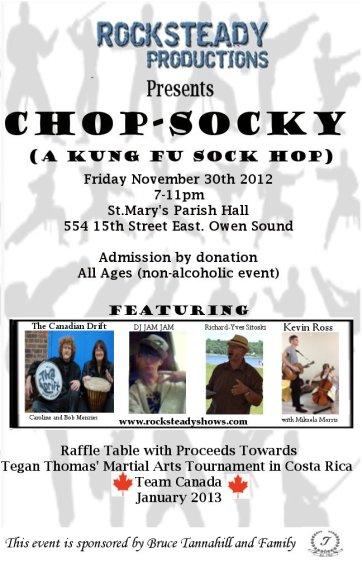 Chop Socky - A Kung Fu Sock Hop